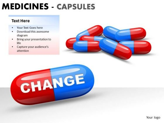 Clinic Medical Capsules PowerPoint Slides And Ppt Diagram Templates