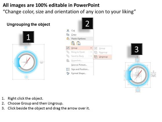 clock_with_three_text_boxes_for_data_representation_presentation_template_2