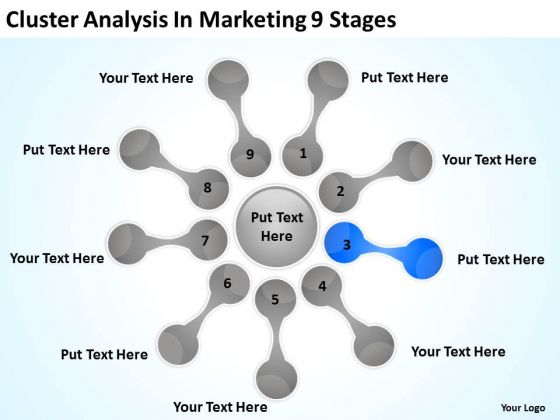 Cluster Analysis In Marketing 9 Stages Good Business Plan PowerPoint Templates