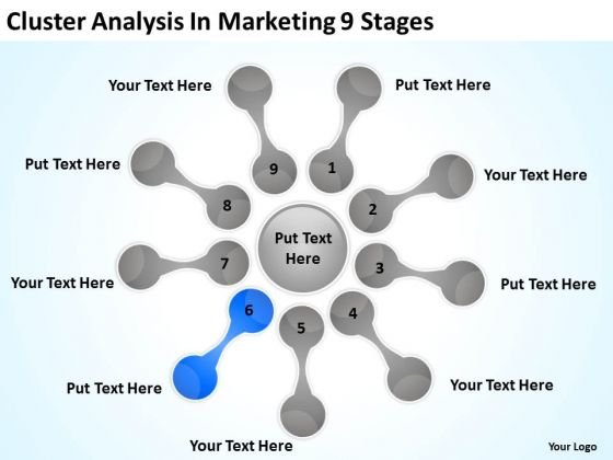 Cluster Analysis In Marketing 9 Stages How To Business Plans PowerPoint Slides