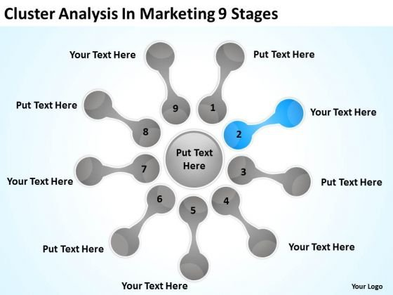 Cluster Analysis In Marketing 9 Stages How Write Business Plan PowerPoint Slides