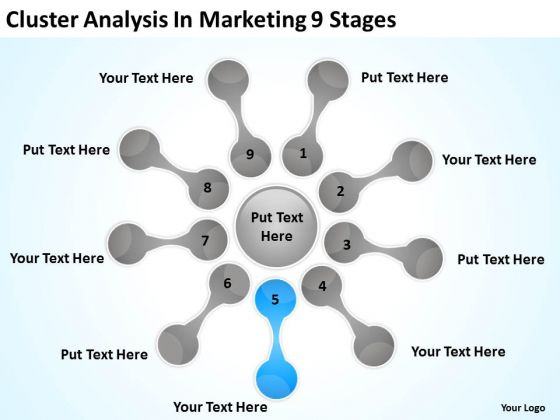 Cluster Analysis In Marketing 9 Stages Ppt Business Plan Format PowerPoint Templates