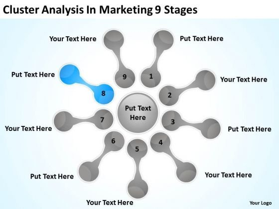 Cluster Analysis In Marketing 9 Stages Ppt Fill The Blank Business Plan PowerPoint Slides