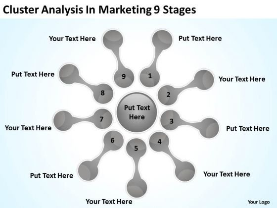 Cluster Analysis In Marketing 9 Stages Start Up Business Plan – Startup Business Plan Template