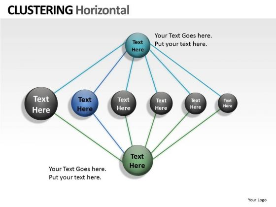 Clustering Network Internet PowerPoint Slides And Ppt Diagram Templates
