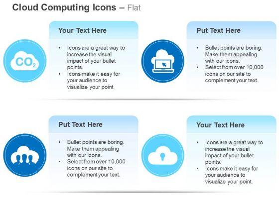 Co2 Network Laptop Data Upload Ppt Slides Graphics