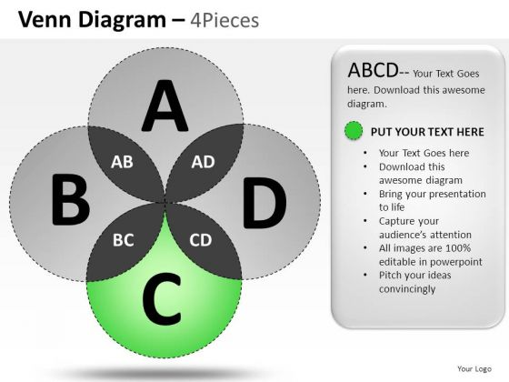 Commerce Venn Diagram PowerPoint Slides And Ppt Diagram Templates