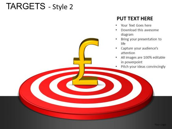 Communication Targets 2 PowerPoint Slides And Ppt Diagram Templates