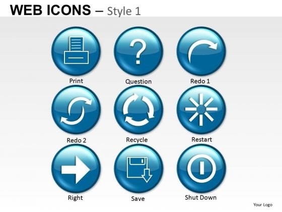 Communication Web Icons PowerPoint Slides And Ppt Diagram Templates