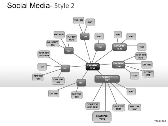Community Social Media 2 PowerPoint Slides And Ppt Diagram Templates