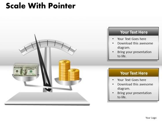 Compare Gold With Currency PowerPoint Slides And Ppt Diagram Templates