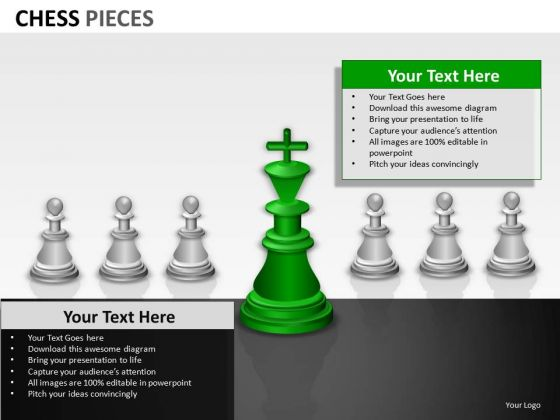 Competition Chess Pieces PowerPoint Slides And Ppt Diagram Templates