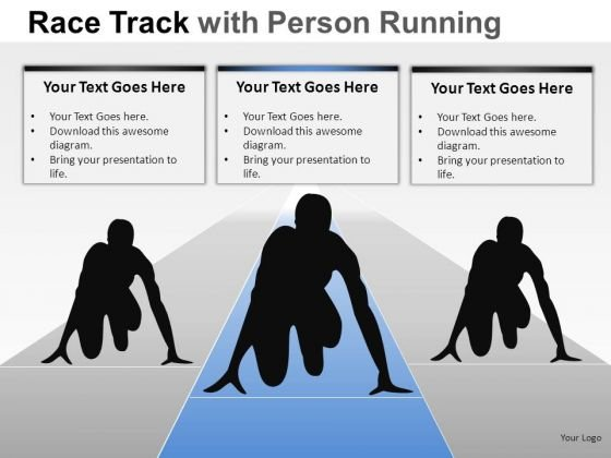 Competition People Race Person Running PowerPoint Slides And Ppt Diagram Templates