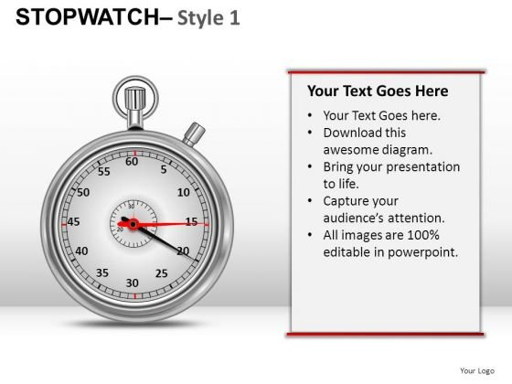 Competition Stopwatch 1 PowerPoint Slides And Ppt Diagram Templates
