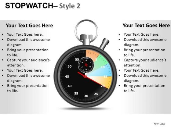 Competition Stopwatch 2 PowerPoint Slides And Ppt Diagram Templates