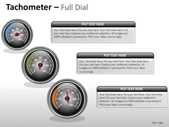 Competition Tachometer Full Dial PowerPoint Slides And Ppt Diagram Templates