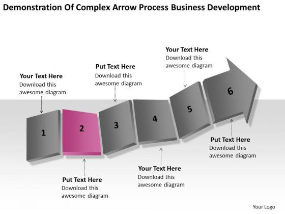 Complex Arrow Process Business Development Ppt What Is Plan PowerPoint Slides