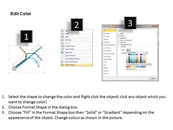 complex_path_to_follow_road_mapping_diversion_powerpoint_templates_ppt_slides_graphics_3