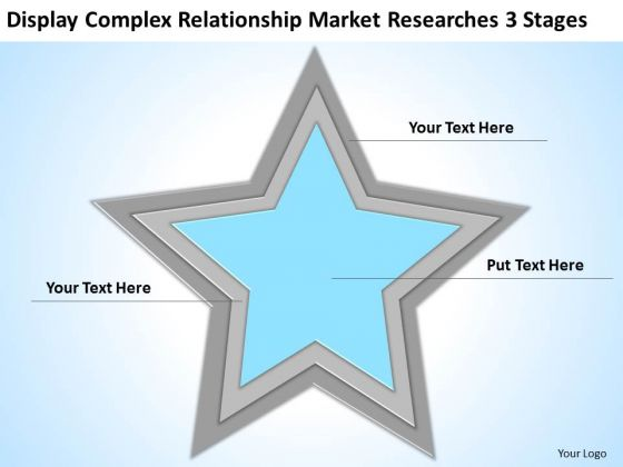 Complex Relationship Market Researches 3 Stages Business Plan Marketing PowerPoint Slides