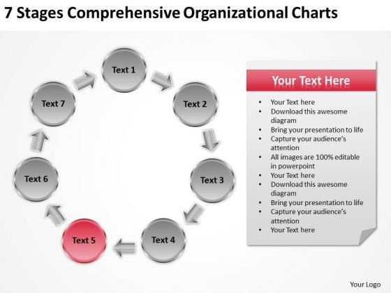 Comprehensive Organizational Charts Church Business Plan Template