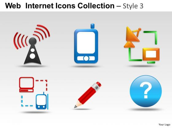 Computer Security Web Internet Icons PowerPoint Slides And Ppt Diagram Templates