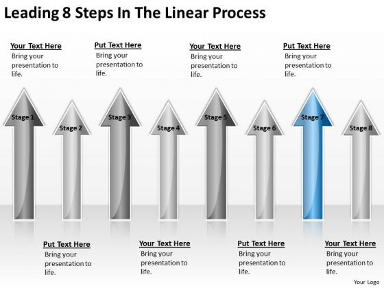 Concept Of Parallel Processing Leading 8 Steps The Linear PowerPoint Slide