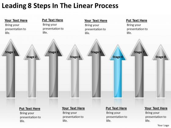 Concept Of Parallel Processing Leading 8 Steps The Linear PowerPoint Slides