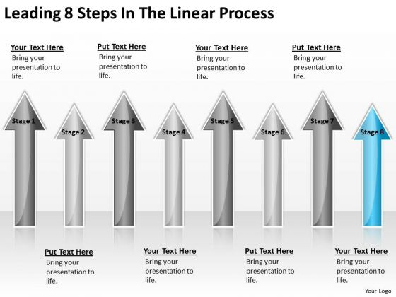 Concept Of Parallel Processing Leading 8 Steps The Linear Ppt PowerPoint Slides