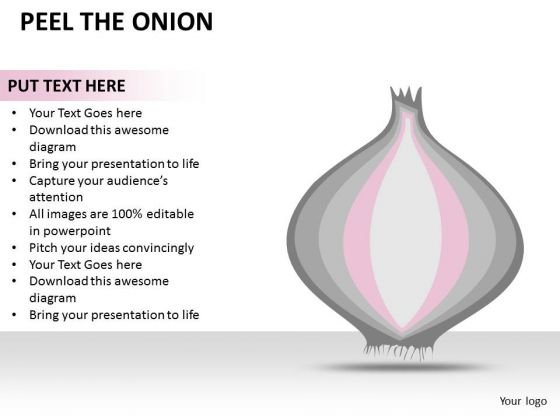 Concept Peel The Onion PowerPoint Slides And Ppt Diagram Templates