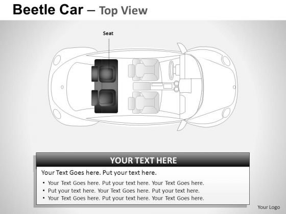 Concept Red Beetle Car PowerPoint Slides And Ppt Diagram Templates