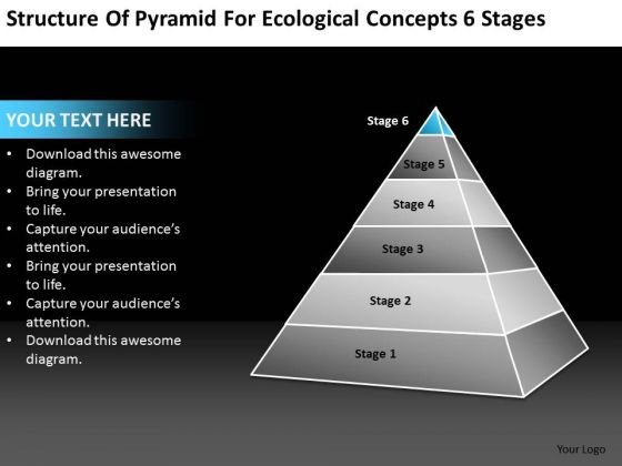 Concepts 6 Stages Ppt How To Write Business Plan For Small PowerPoint Slides