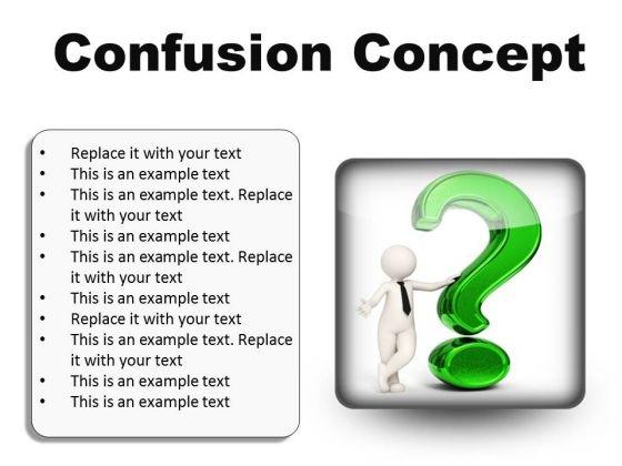 Confusion Concept Symbol PowerPoint Presentation Slides S