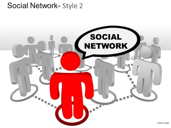 Connect Social Network 2 PowerPoint Slides And Ppt Diagram Templates