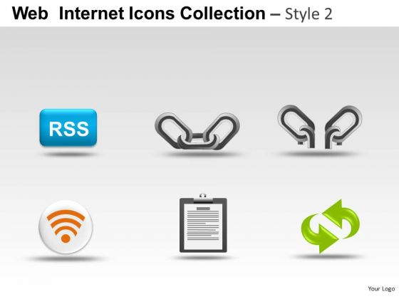 Connection Web Internet Icons PowerPoint Slides And Ppt Diagram Templates