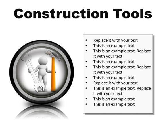 Construction Tools Industrial PowerPoint Presentation Slides Cc