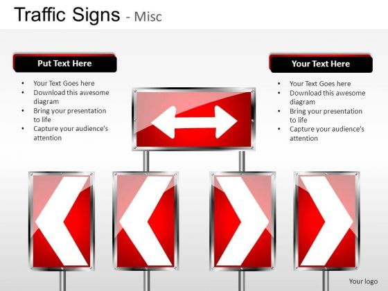 Construction Traffic Signs PowerPoint Slides And Ppt Diagram Templates