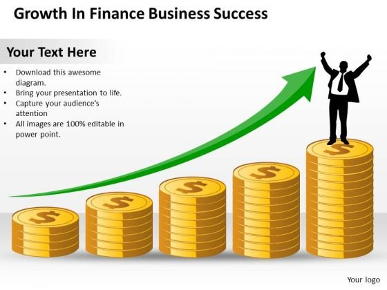 Consulting PowerPoint Template Growth Finance Business Success Ppt Templates