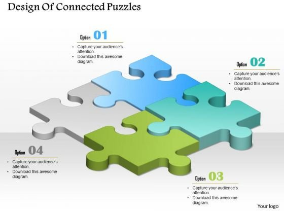 Consulting Slides Design Of Connected Puzzles Business Presentation