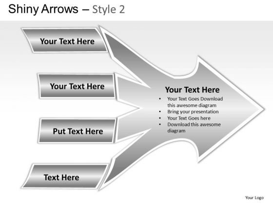 Converging Arrows PowerPoint Slides And Ppt Diagram Templates