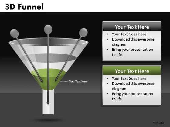 Conversion Funnel Inputs PowerPoint Templates Funnels Ppt Slides