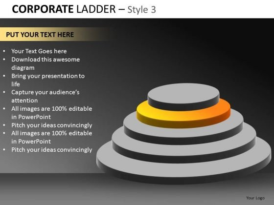 Corporate Ladder Style 3 Ppt 5