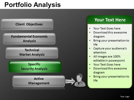 Corporate Portfolio Analysis PowerPoint Slides And Ppt Diagram Templates