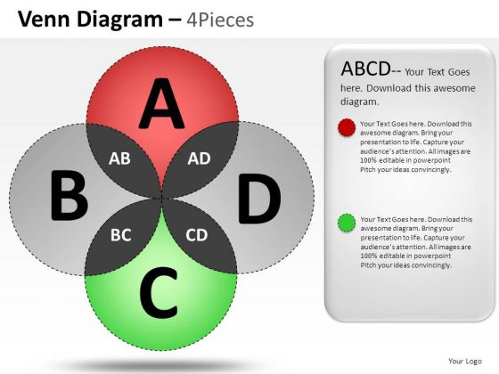 Corporate Venn Diagram PowerPoint Slides And Ppt Diagram Templates