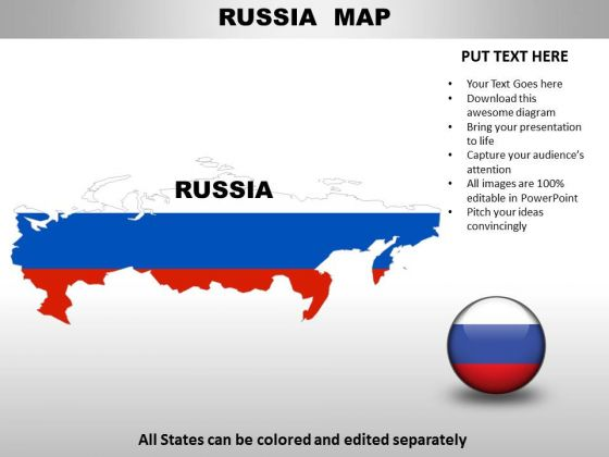 Country powerpoint maps russia powerpoint templates toneelgroepblik Images