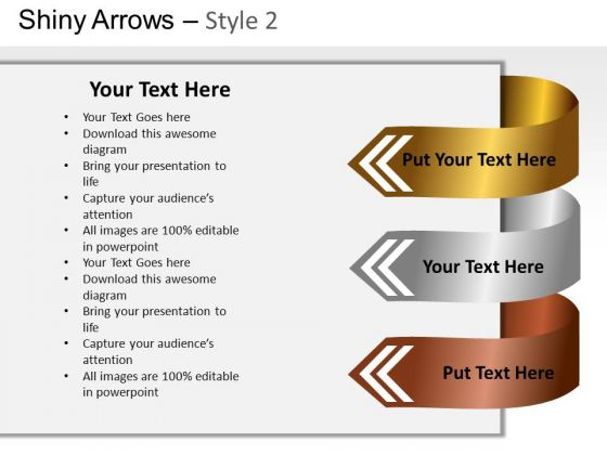 Creative Arrow Text Boxes For PowerPoint Slides PowerPoint Templates