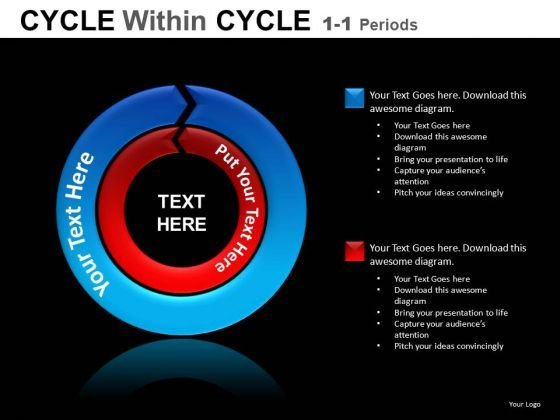 Cycle Chart PowerPoint Diagrams