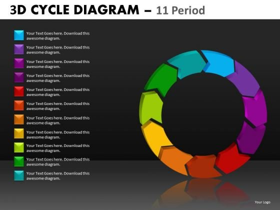 Cycle Process Diagram PowerPoint Templates Ppt Slides
