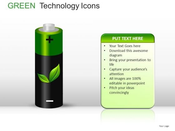 Cylinders Green Technology Icons PowerPoint Slides And Ppt Diagram Templates