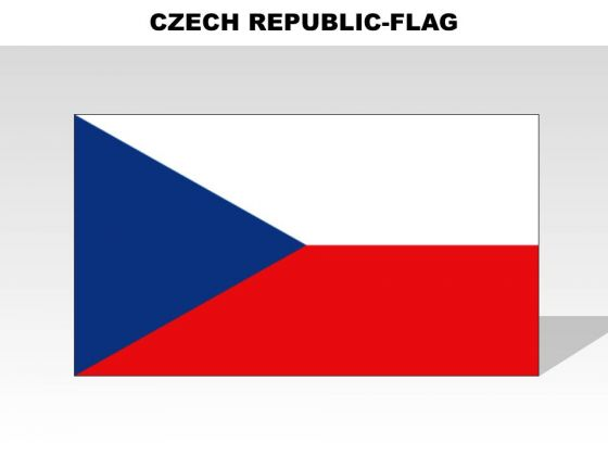 Czech Republic Country PowerPoint Flags