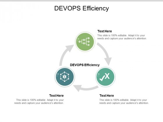 DEVOPS Efficiency Ppt PowerPoint Presentation Pictures Themes Cpb